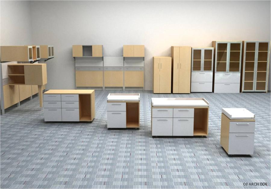 Credenza Con Librero : Muebles para oficinas eofficemuebles credenza de archivo con