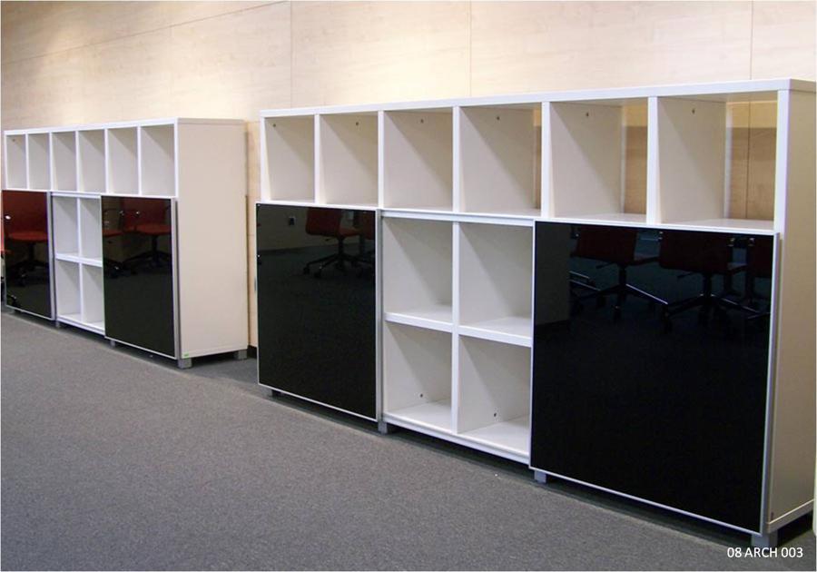 Credenza Con Librero : Muebles para oficinas eofficemuebles librero con puertas