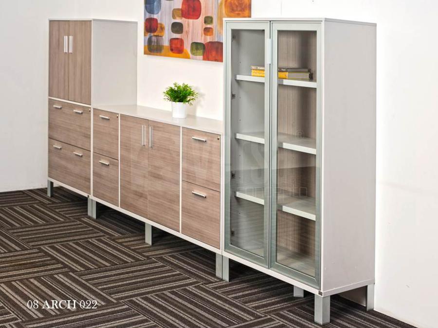 Credenza Con Puertas De Cristal : Muebles para oficinas eofficemuebles versa librero de piso