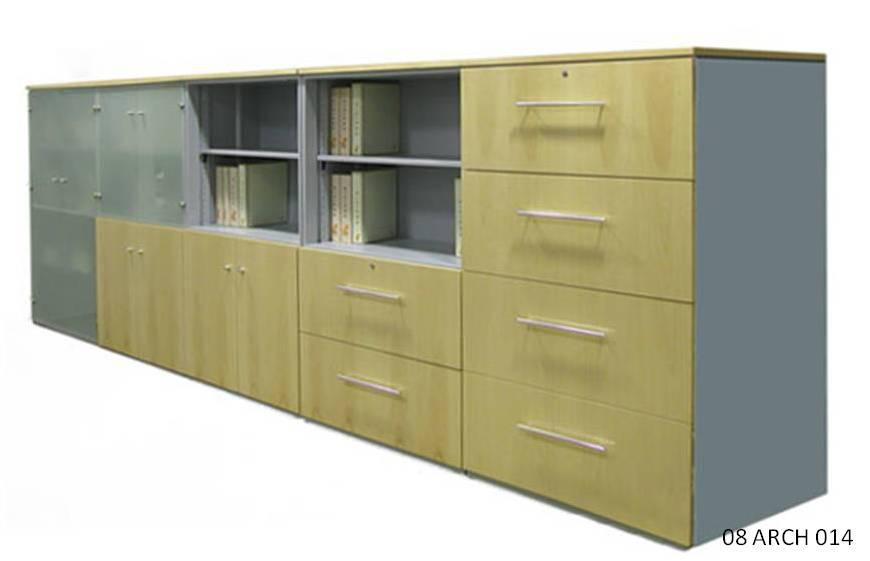 Credenza Con Puertas De Cristal : Muebles para oficinas eofficemuebles librero de piso con