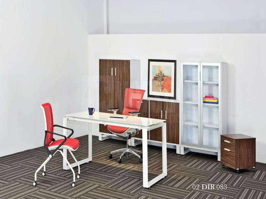 Credenza Con Puertas De Cristal : Muebles para oficinas eofficemuebles librero de piso puertas